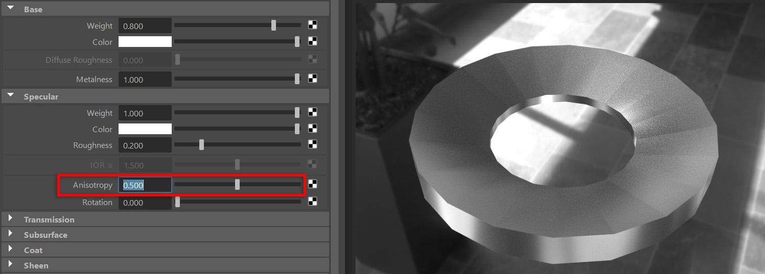 【Maya】Arnold渲染器的学习(5): 标准曲面着色器(上)